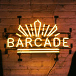 Barcade® Yellow Neon Sign
