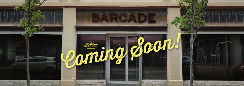 Barcade in New Haven Coming Soon