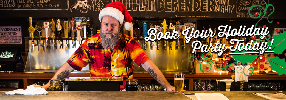 Book your Holiday Party at Barcade Today!