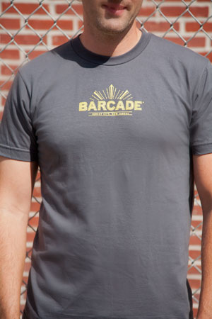 Barcade® Jersey City Men's T-Shirt - Grey