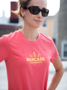 Barcade® Jersey City T-Shirt - Peach