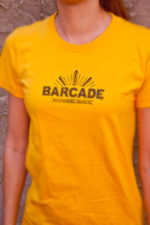 Barcade® Brooklyn T-Shirt - Bright Orange