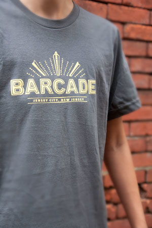 Barcade® Jersey City T-Shirt - Grey