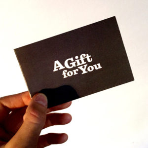 Barcade Gift Card Holder - Outside