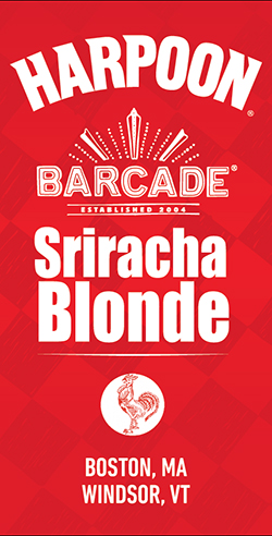 Harpoon Sriracha Blonde Label