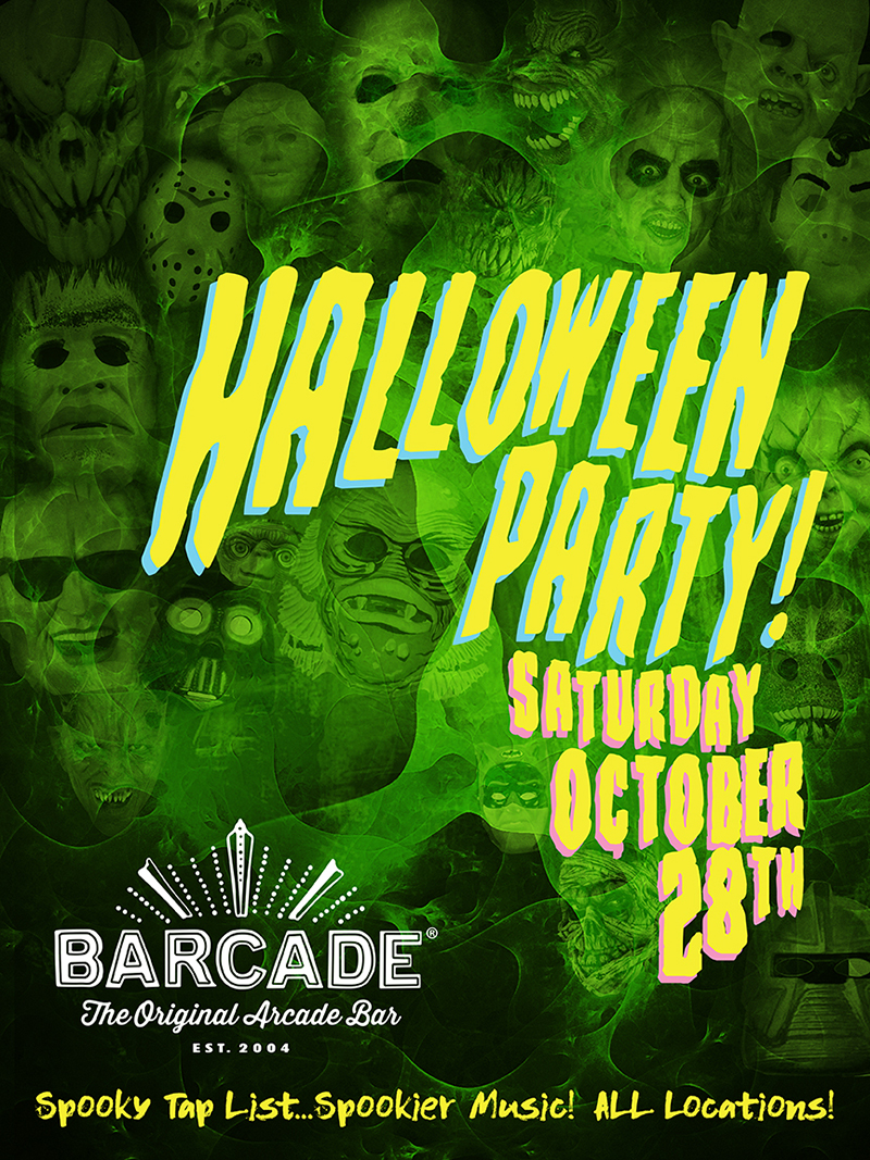 Barcade Halloween Party!!