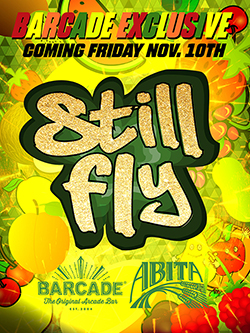 Barcade® Exclusive : Abita Still Fly Launch — November 10, 2017 Barcade® Exclusive : Abita Still Fly Launch — November 10, 2017 | Available only at Barcade® Locations while supplies last
