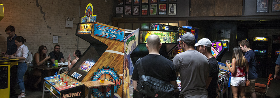 Home | Barcade® - The Original Arcade Bar