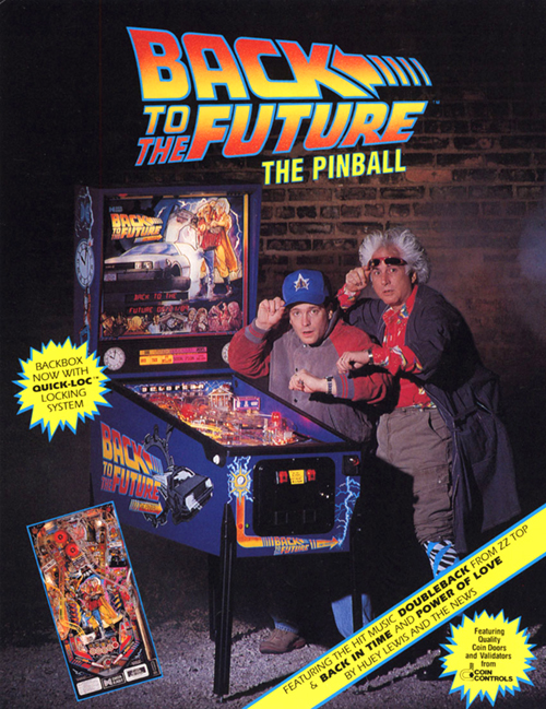 Back to the Future (pinball) — 1990 at Barcade®