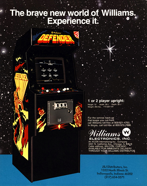 Defender — 1981 at Barcade®