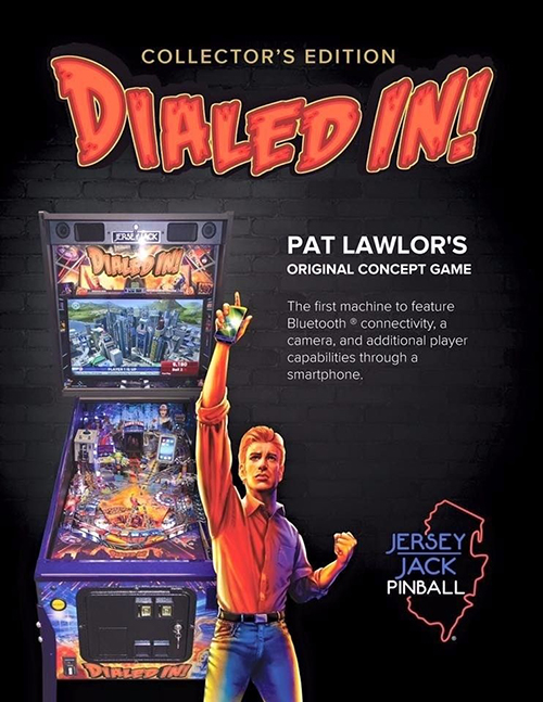 Dialed In (pinball) — 2017 at Barcade®
