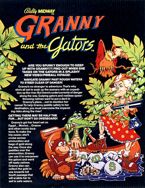 Granny and the Gators — 1984 at Barcade®