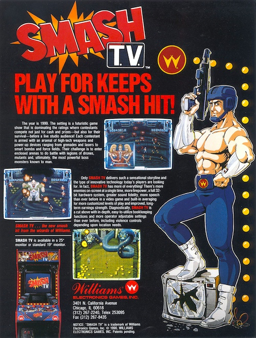Smash T.V. — 1990 at Barcade®