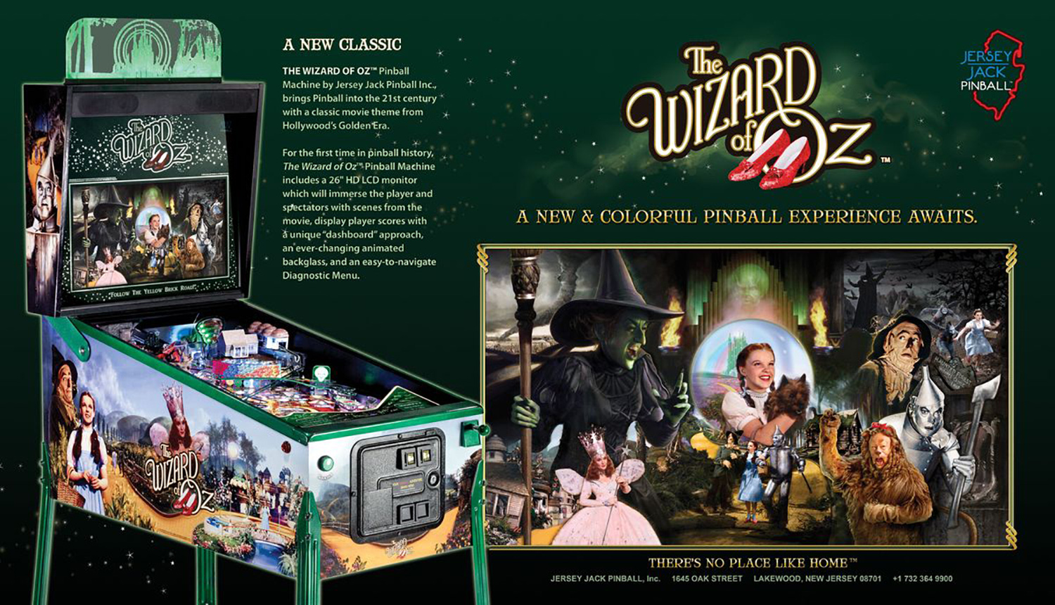 The Wizard of Oz (pinball) — 2013 at Barcade®