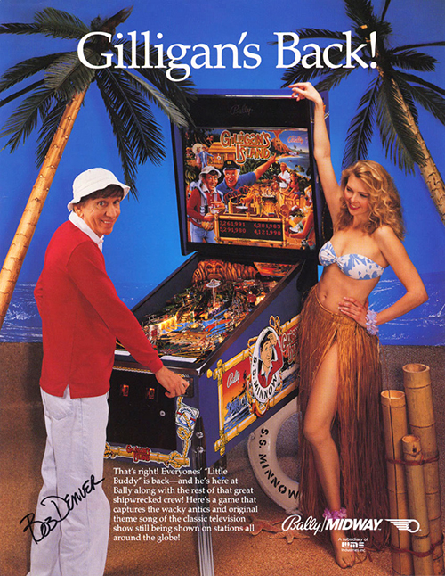 Gilligan's Island — 1991 at Barcade®