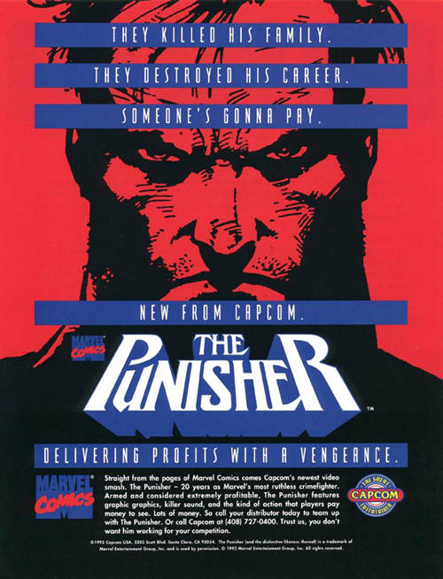The Punisher — 1993 at Barcade®