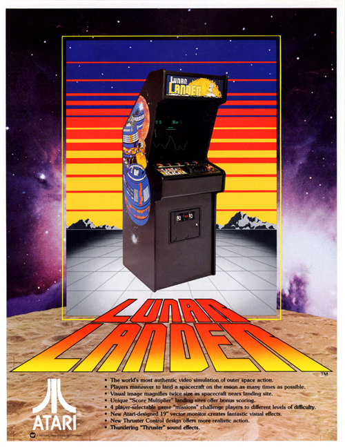 Lunar Lander — 1979 at Barcade® | The Original Arcade Bar