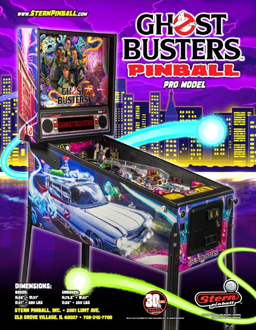 Ghostbusters (pinball) — 2016 at Barcade®