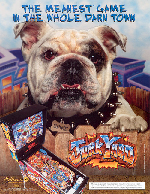 Junk Yard (pinball) — 1996 at Barcade®
