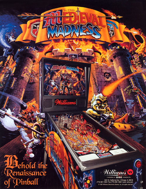 Medieval Madness (pinball) — 1997 at Barcade®