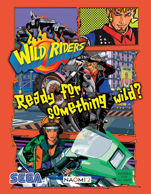 Wild Riders — 2001 at Barcade®