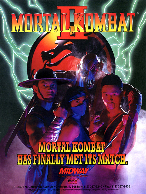 Mortal Kombat II — 1993 at Barcade®