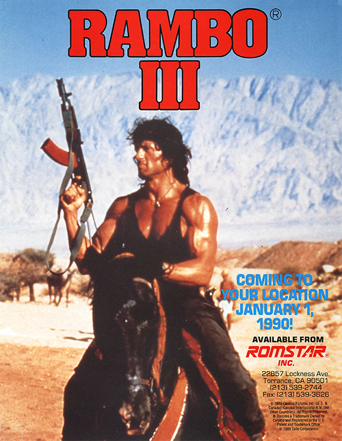 Rambo III — 1990 at Barcade®