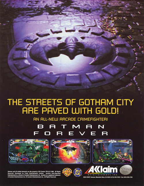 Batman Forever — 1996 at Barcade®