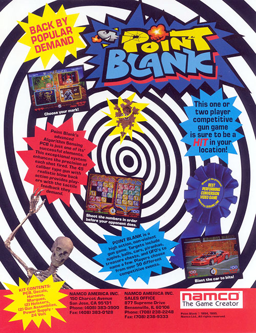 Point Blank — 1994 at Barcade® at Barcade®