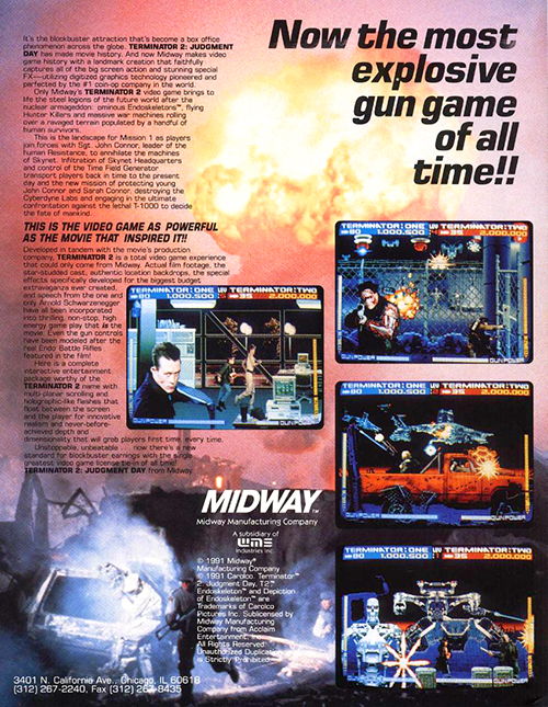 Terminator 2: Judgment Day — 1991 at Barcade®