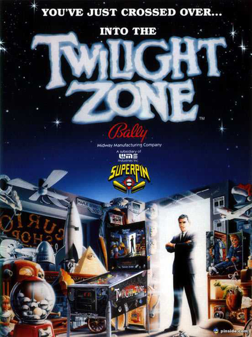 Twilight Zone (pinball) — 1993 at Barcade®