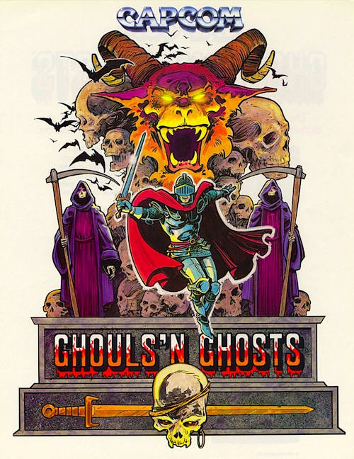 Ghouls 'N Ghosts — 1988 at Barcade®