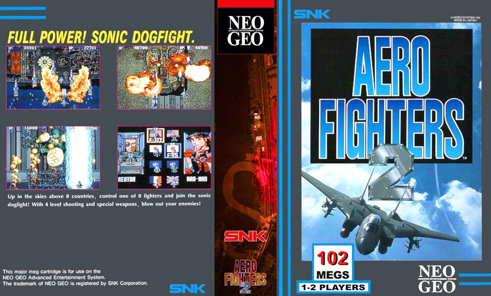 Aero Fighters 2 — 1994 at Barcade®