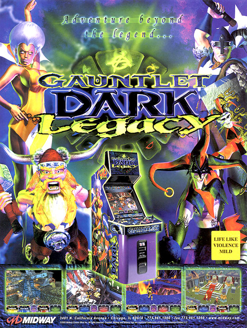 Gauntlet Dark Legacy — 2000 at Barcade®