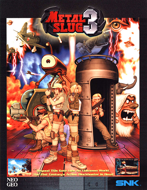 Metal Slug 3 — 2000 at Barcade®