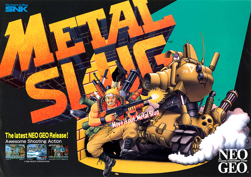 Metal Slug — 1996 at Barcade®