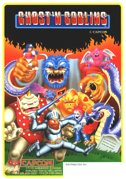 Ghosts 'N Goblins — 1985 at Barcade®