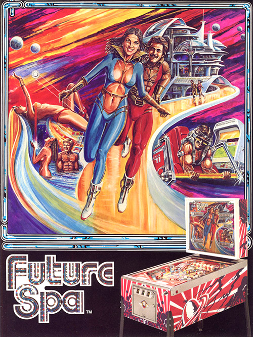 Future Spa (pinball) — 1979 at Barcade®