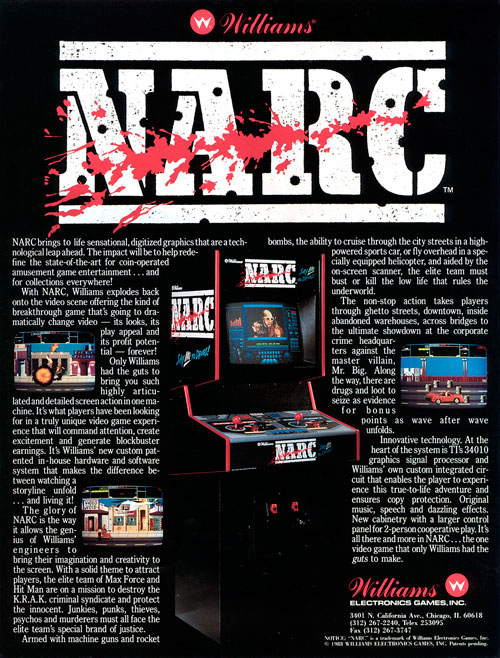 NARC — 1988 at Barcade®