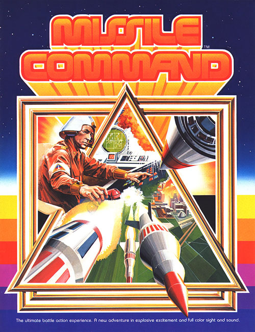 Missile Command — 1980 at Barcade® | arcade flyer graphic
