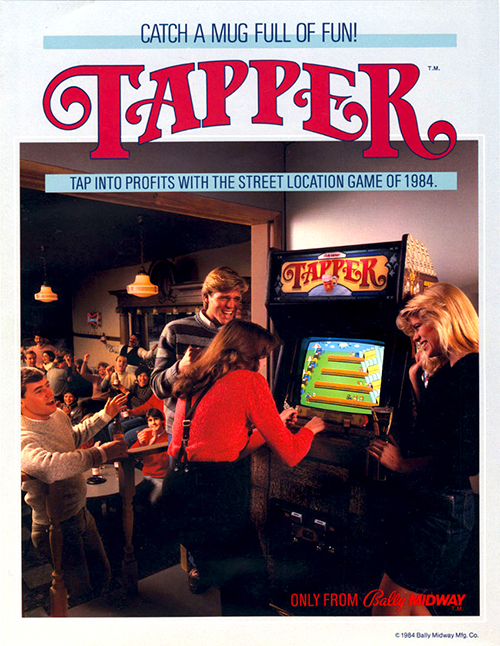 Tapper — 1984 at Barcade®