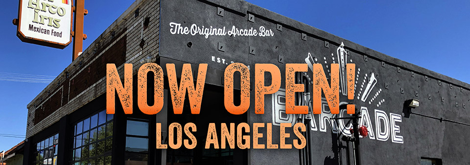 Barcade® Los Angles, California | Now Open | exterior image