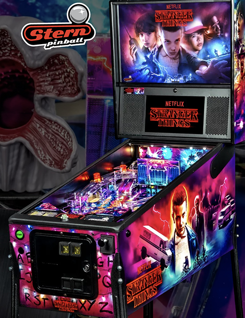 Stranger Things — 2019 at Barcade® | arcade game flyer graphic