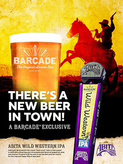Abita Wild Western IPA | Barcade® Exclusive Beer — Available at all Barcade Locations March 2020
