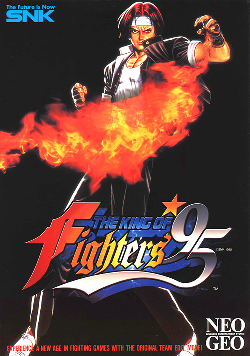 King Of Fighters '95 — 1995 at Barcade® | arcade game flyer graphic