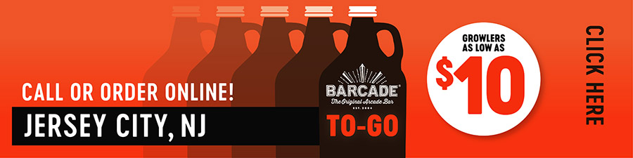Barcade® To-Go — JERSEY CITY, NJ - Call or order online graphic