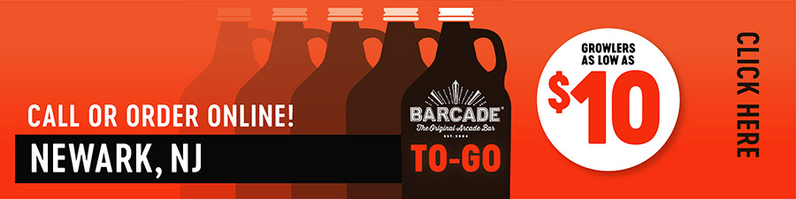 Barcade® To-Go — NEWARK, NJ - Call or order online graphic