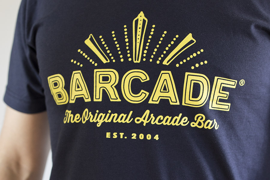 Barcade Original Arcade Bar T-Shirt for sale onnline